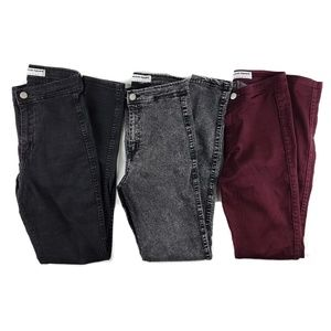 American Apparel Skinny Jeans Size Small 3 Pairs!